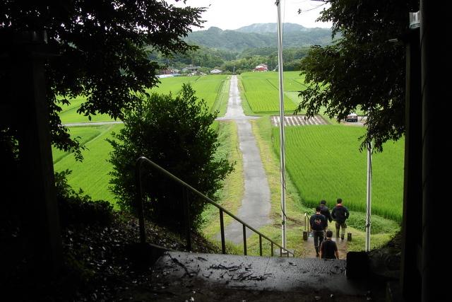 大宮神社からの展望