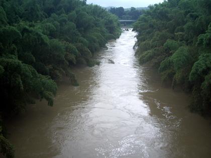 小櫃川濁流